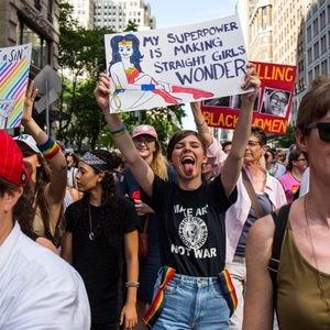 NSFW Photos: Thousands Of Lesbians Take Over Fifth Ave. For NYC Dyke March