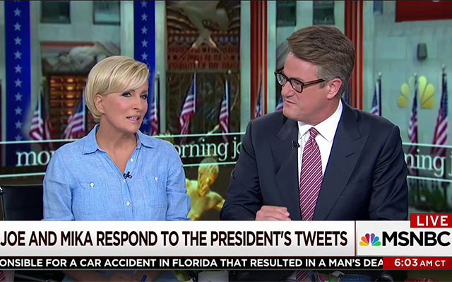 Mika Brzezinski Responds To Trump's Tweets: It's 'Really Sad For Our Country'