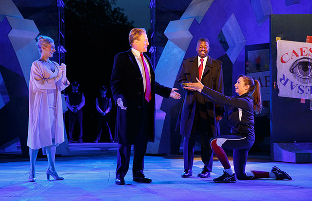Trump-Like 'Julius Caesar' Production In Central Park Prompts Delta, Bank Of America To Drop Sponsorship