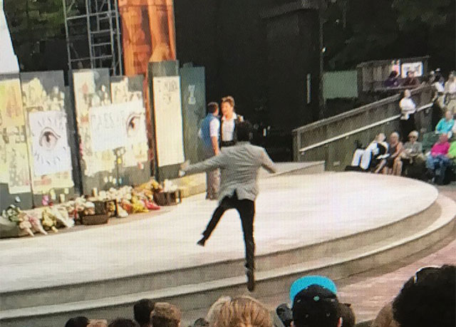 Video: Protesters Again Disrupt 'Julius Caesar' Production In Central Park