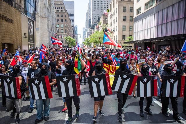 Photos: 2017 Puerto Rican Day Parade More Protest Than Party