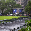 A Little Thunderstorm Didn't Stop The First Bryant Park Summer Movie Night