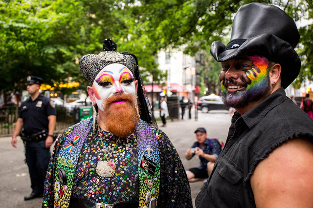 See The Resplendent And Racy Queens And Kings Of NYC Drag March