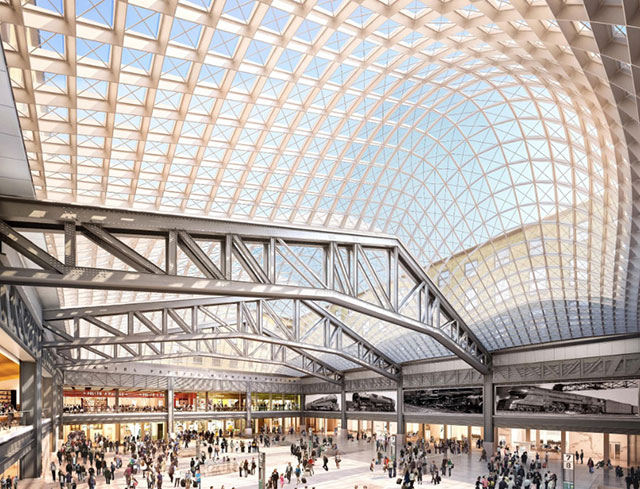 Cuomo Offers More Renderings Of New $1.6 Billion Moynihan Train Hall