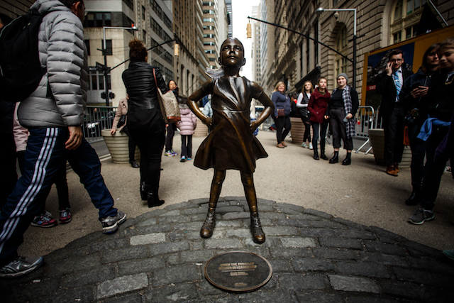 The Fearless Girl Statue Is Racking Up Awards In Cannes