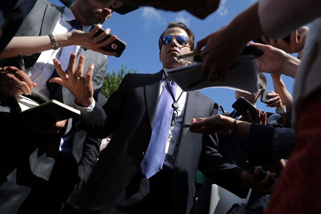 Mooch Really Doesn't Want Media To Focus On His Divorce