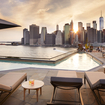 Brooklyn Rooftop Pool Bar With Enviable View Is Opening To The Public This Weekend