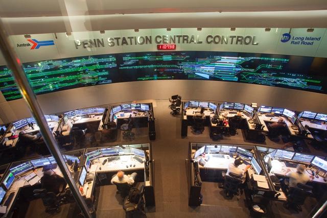 A Rare Peek Inside The Penn Station Central Control Room