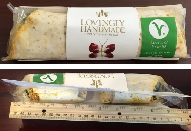 Pret A Manger Perpetrating Sneaky Sandwich Wrap Ripoff, Lawsuit Alleges
