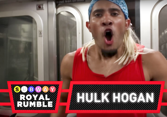 Video: A Subway Royal Rumble Went Down On The M Train