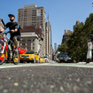 Photos: Pedestrians & Cyclists Get A Flatiron Oasis