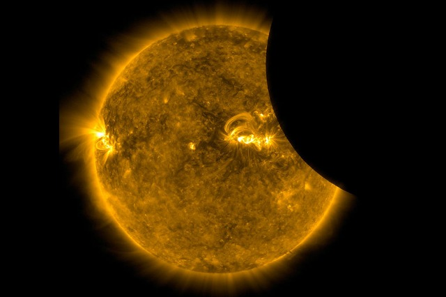 NASA Just Released Absolutely Amazing Eclipse Photos Taken From Space