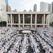 Photos: Thousands Of People Dressed In White Filled Lincoln Center For Dîner En Blanc 2017
