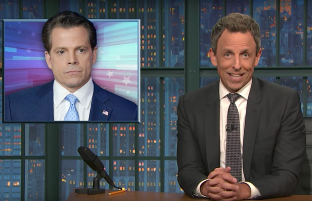 '114 Pounds Of Alfredo Sauce, Hair Gel And Rage': Mooch Gets Farewell From Late Night Talk Show Hosts