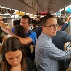 Two Stalled Trains + Sick Passenger = Morning Commute Problems On A, B, C, D, F, N, Q And R Trains