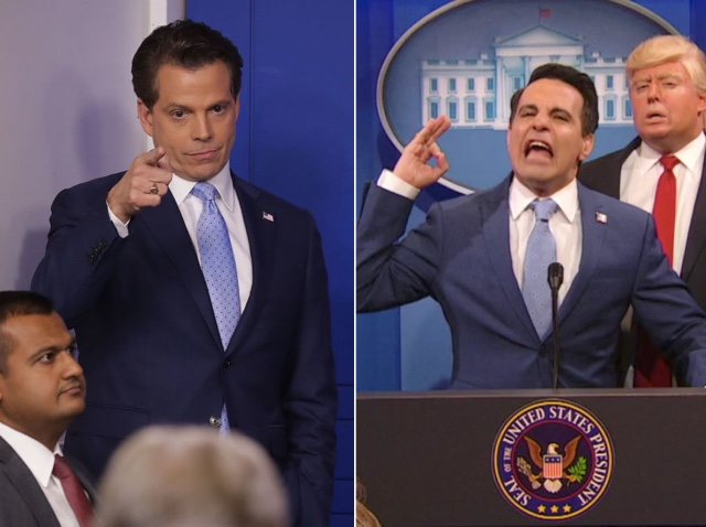 Mooch Happy: Anthony Scaramucci Seems To Approve Of Mario Cantone's Impression