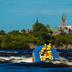 You Can Whitewater Raft Right Up To The Banks of Canada's Capital, Ottawa