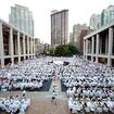 Thousands Of Hungry People In White Are Flooding Lincoln Center Tonight For Diner En Blanc