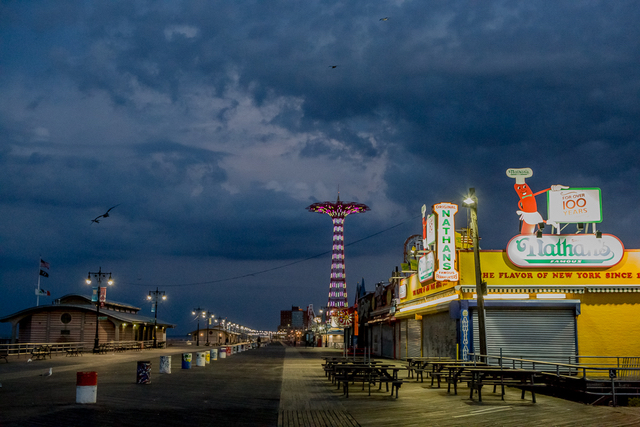 Here's What Coney Island Looks Like In The Empty Pre-Dawn Hours