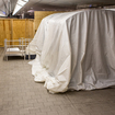 What Is The MTA Hiding Under These Mysterious Shrouds?