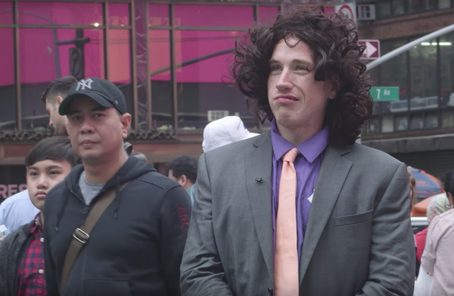 Watch The Inspiring Story Of A Late '80s Dennis Miller Times Square Impersonator