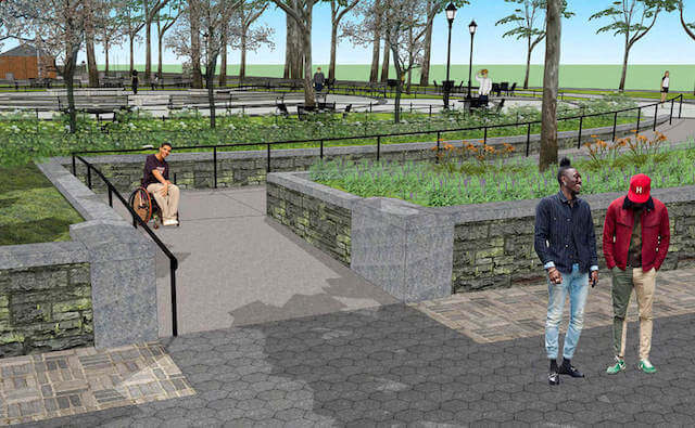 What Is Drake Doing In This NYC Park Rendering?