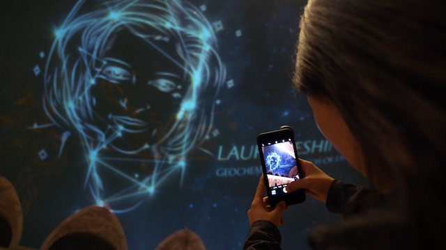 Video: Grand Central's Ceiling Stars Replaced With Faces Of Female Scientists