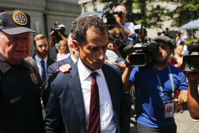 Federal Prosecutors Say Anthony Weiner Convinced Teen To Strip, Touch Herself On Skype