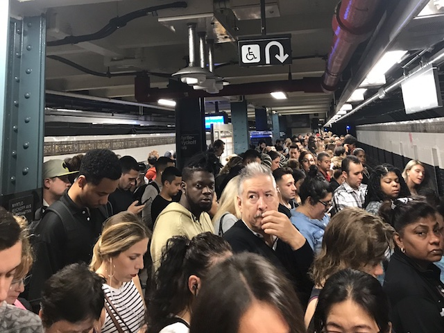 The L Train Is Just So Special This Morning