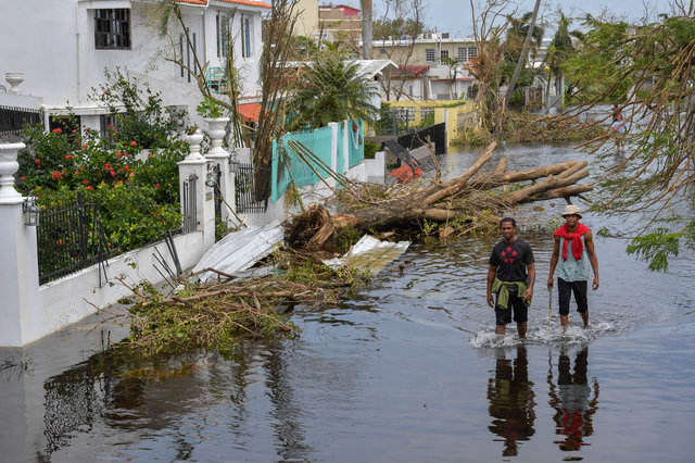 Puerto Rico Experiencing 'Apocalyptic' Devastation From Hurricane Maria