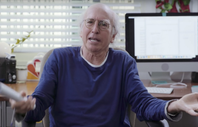 Watch Larry David Turn 'Late Night With Seth Meyers' Into A 'Curb' Sketch