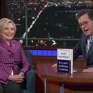 Hillary Clinton Critiqued Trump's 'Dangerous' UN Speech On Colbert