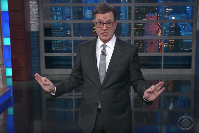 Video: Stephen Colbert Deeply Disturbed By Trump 'Trumpsplaining' To Puerto Ricans