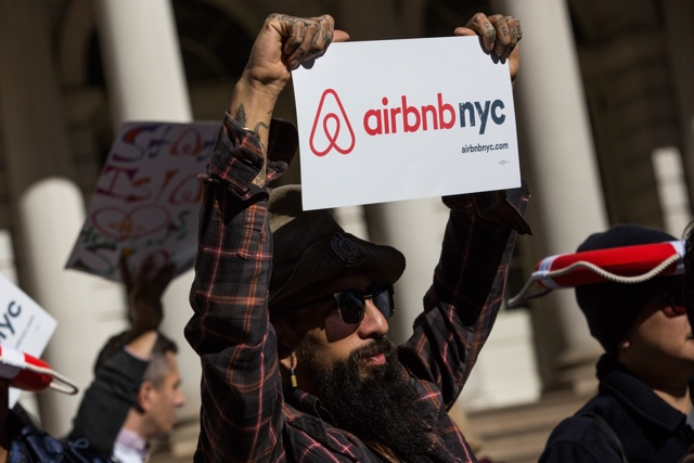 Cash And Insults Fly As Hotel Industry Fights Bill That Would Regulate Airbnb