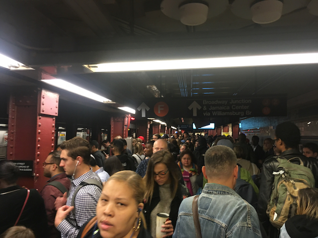 Don't Worry, Tonight's Rush Hour Subway Commute Will Be Great!