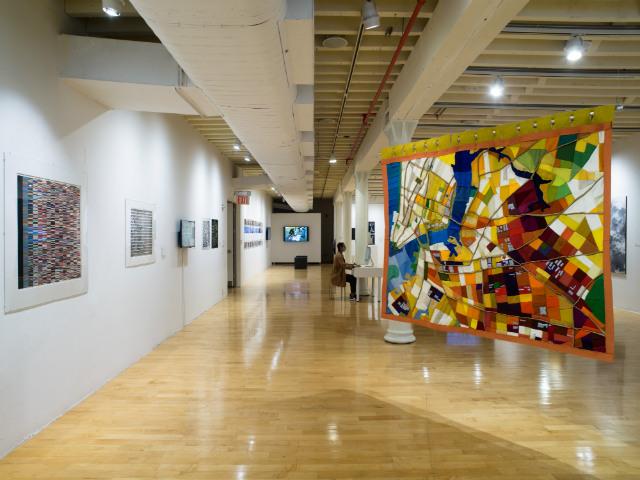 Photos: Unusual NYC Maps Are On Display At Pratt Manhattan Gallery