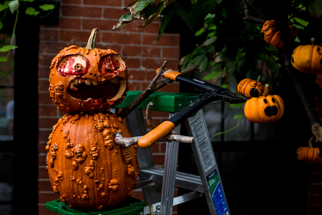 Photos: Brooklyn's Best Halloween Display Is A Bloody Pumpkin Massacre