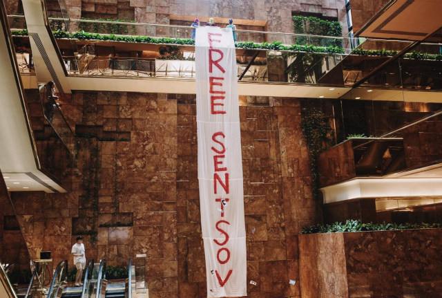 Video: Pussy Riot Stage Protest Inside Trump Tower