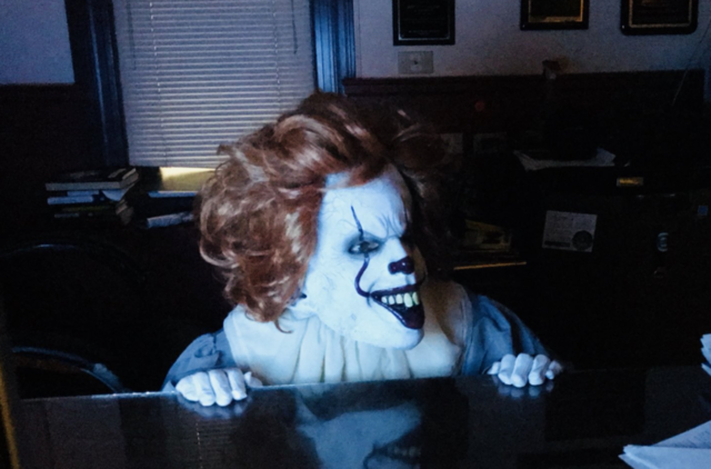 Officer Pennywise Invites You To Come Play In The NYPD's Haunted House