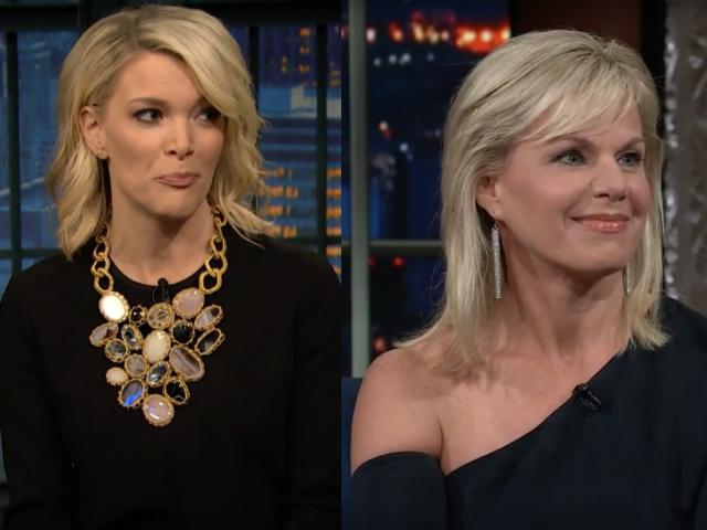 Video: Megyn Kelly & Gretchen Carlson Lambast Bill O'Reilly & Fox News On Late Night Shows