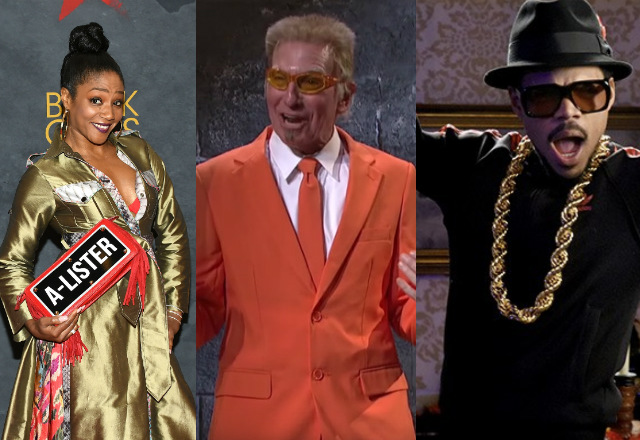 Larry David, Tiffany Haddish & Chance The Rapper Will Host SNL In November