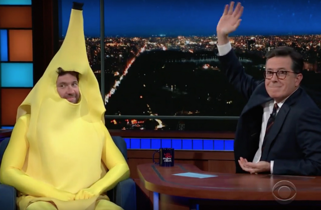 Video: Billy Eichner Was A Banana Who Hates Donald Trump For Halloween On Colbert