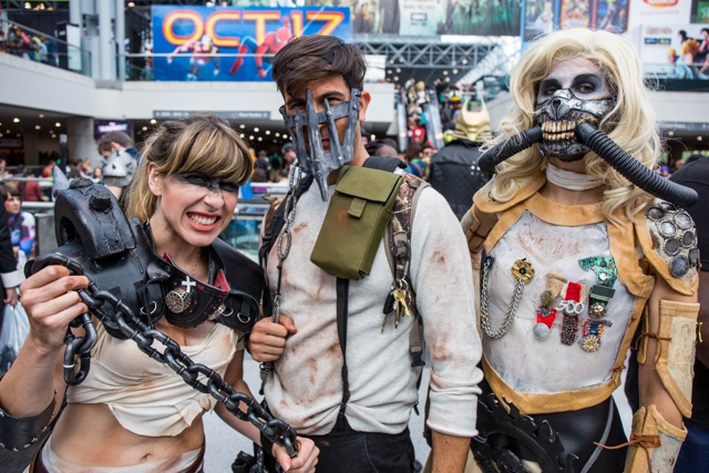 Photos: All The Coolest Cosplay At Saturday's NY Comic Con