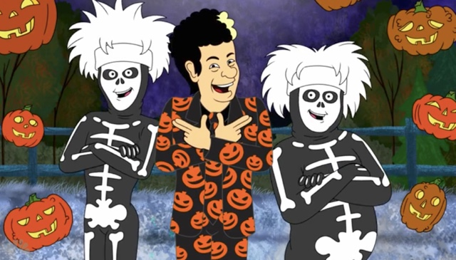 You Can Stream The 'David S. Pumpkins Animated Special' Online, Man—Any Questions?