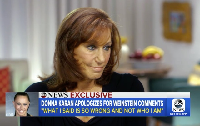 'A Huge, Huge Mistake': Donna Karan Feels Bad For Saying Harvey Weinstein's Victims Were 'Asking For It'