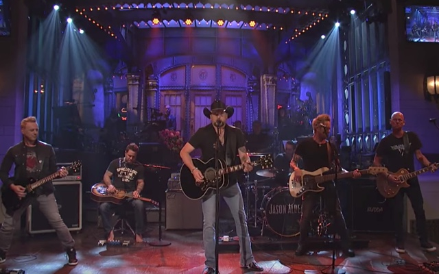 Jason Aldean Plays Tom Petty's 'I Won't Back Down' During SNL's Cold Open