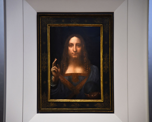 'The Last Da Vinci': Painting By Leonardo To Be Auctioned At Christie's, Estimated At $100 Million
