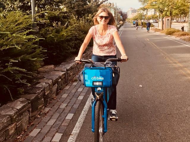 Lisa Bloom Rides Citi Bike After Resigning As Harvey Weinstein's Adviser