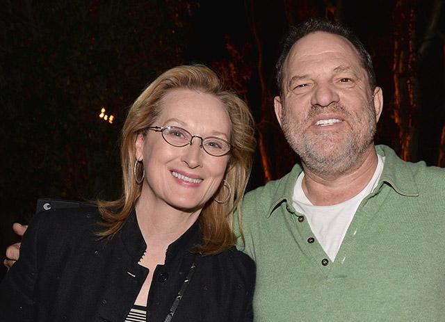 Meryl Streep Calls Harvey Weinstein 'Disgraceful' But Adds 'Not Everybody Knew'