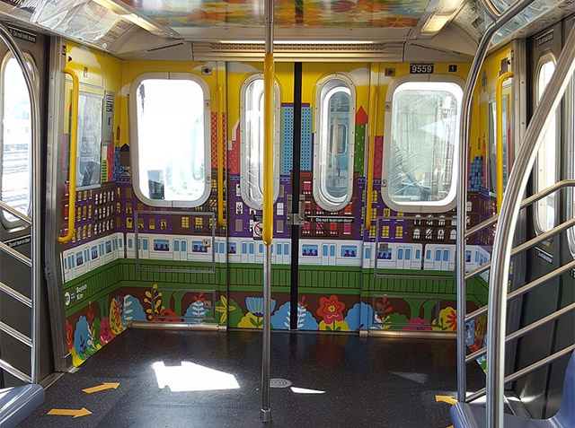 Photos: Step Inside The MTA's New Subway Cars, Now With Less Seating
